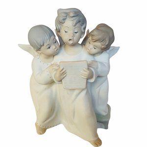 Lladro Carolers Angels Nao Spain Figurine decor